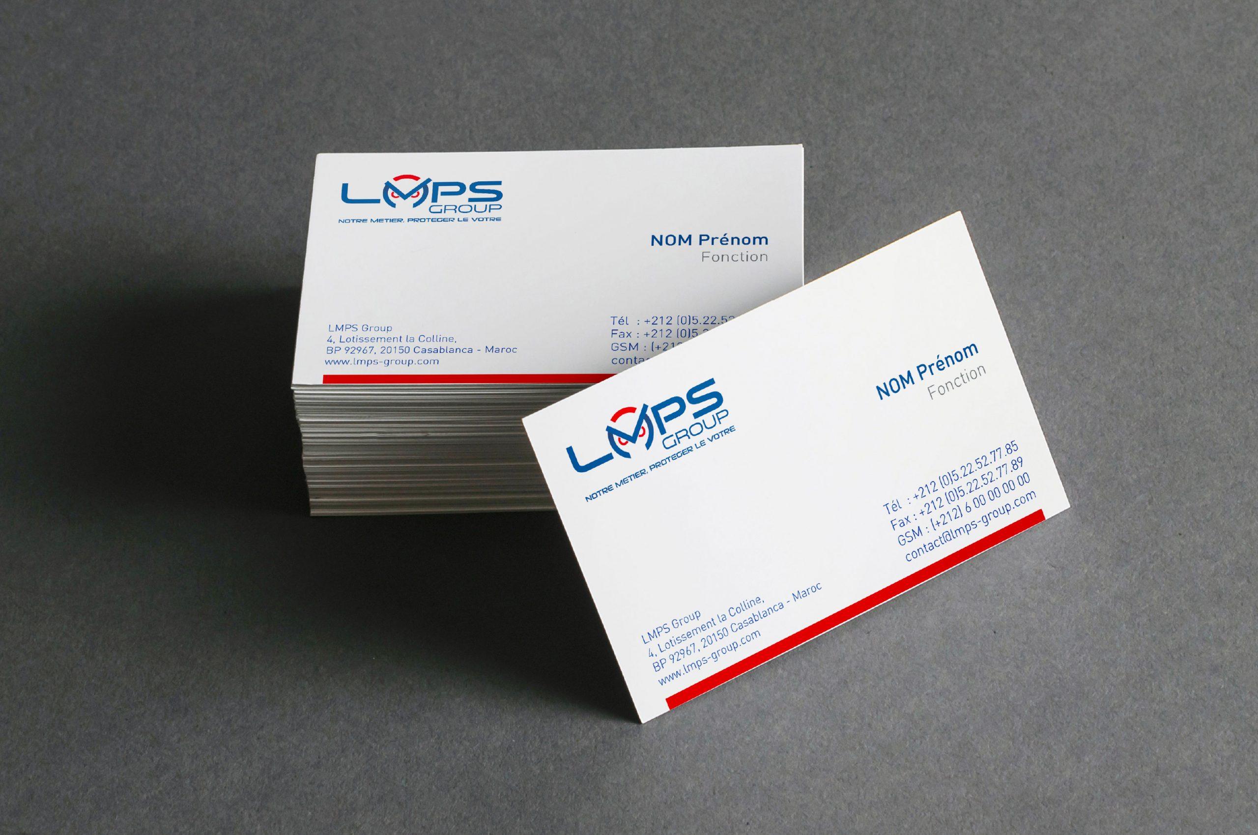 carte visite LMPS GROUP